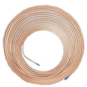 Tubo Cobre Flexible 1/4 15.24Mts Modelo: CXTCF15-1/4