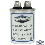 Capacitor de Trabajo 10Mf, Dual 440-370vac, +-5%, 50/60Hz, Modelo: CXC44010 Marca CLUXER