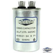 Capacitor de Trabajo 30Mf, Dual 440-370vac +-5%, 50/60Hz, Modelo: CXC44030 Marca CLUXER