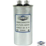 Capacitor de Trabajo 45 Mf, Dual 440-370vac, +-5%, 50/60Hz, Modelo: CXC44045 Marca CLUXER