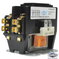 Contactor 1 Polo 20 Amps, Bobina 208-240VAC, 50/60Hz, Modelo: CXC1P20A220 Marca CLUXER