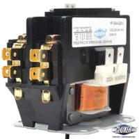 Contactor 1 Polo 30Amps, Bobina 208-240VAC, 50/60Hz, Modelo: CXC1P30A220 Marca CLUXER