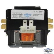 Contactor 1 Polo, 30Amps, Bobina 208-240VAC, 50/60Hz, Cluxer CXC1P30A220