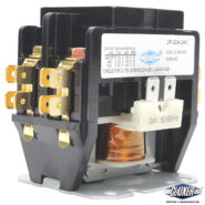 Contactor 2 Polos 20Amps, Bobina 21-24VAC, 50/60Hz, Modelo: CXC2P20A24 Marca CLUXER