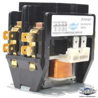 Contactor-2-Polos-30-Amps-Bobina-208-204VAC-50-60Hz-Modelo-CXC2P30A220-Marca-CLUXER