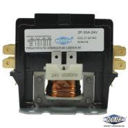Contactor 2 Polos 30 Amps Bobina 21-24VAC, 50/60Hz, Modelo: CXC2P30A24 Marca CLUXER