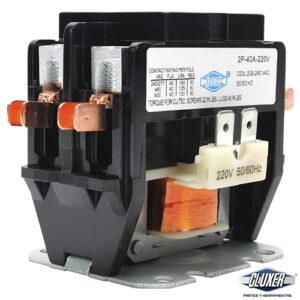 Contactor 2 Polos 40 Amperes Bobina 208-240 CXC2P40A220