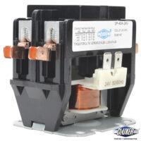 Contactor 2 Polos 40 Amps, Bobina 21-24VAC, 50/60Hz, Modelo: CXC2P40A24 Marca CLUXER