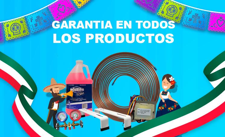 GARANTIA EN TODO LOS PRODUCTOS
